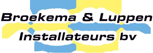Logo installatiebedrijf groningen broekema en luppen
