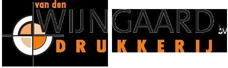 Logo drukkerij van den wijngaard