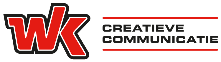 Logo wk creatieve communicatie liggend