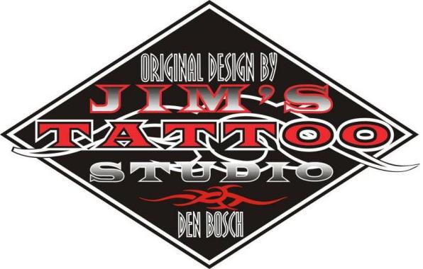 Jims tattoo studio logo 1