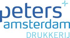 Drukkerij peters amsterdam logo