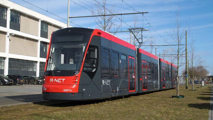 Normal tram den haag