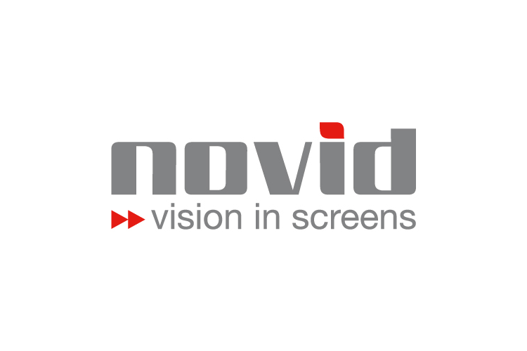 Novid vision in screens logo