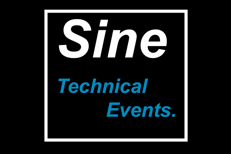 Sine technical events logo