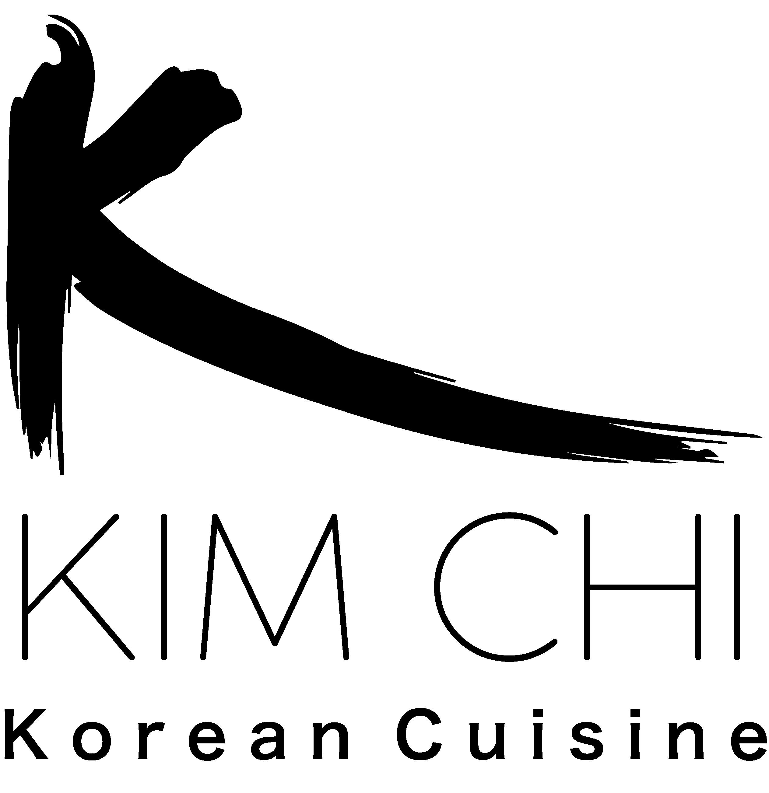 Koreaans restaurant kimchi house logo