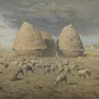 Thumbnail jean franois millet de hooibergen 1867 1868 de mesdag collectie den haag