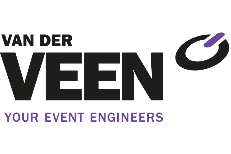 Van der veen your event engineers logo