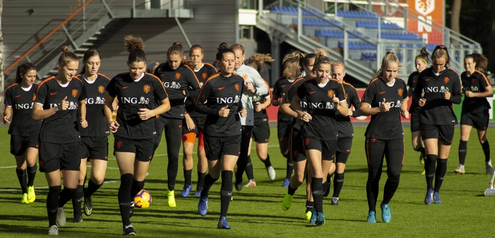 Normal netherlands women s national football team training in 2018 iii