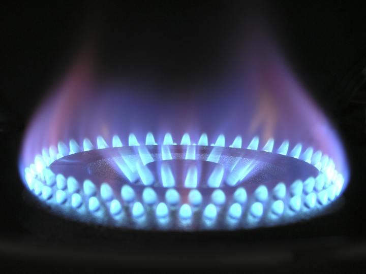 Normal benzine blauw brand branden 266896