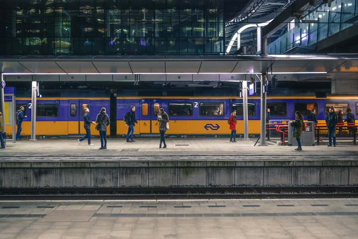 Normal train station rotterdam netherlands 691471