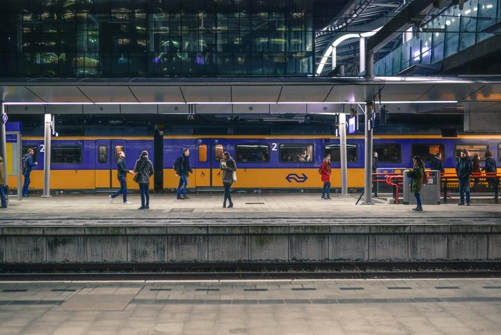 Normal train station rotterdam netherlands 691471