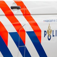 Thumbnail zijkant politieauto met logo
