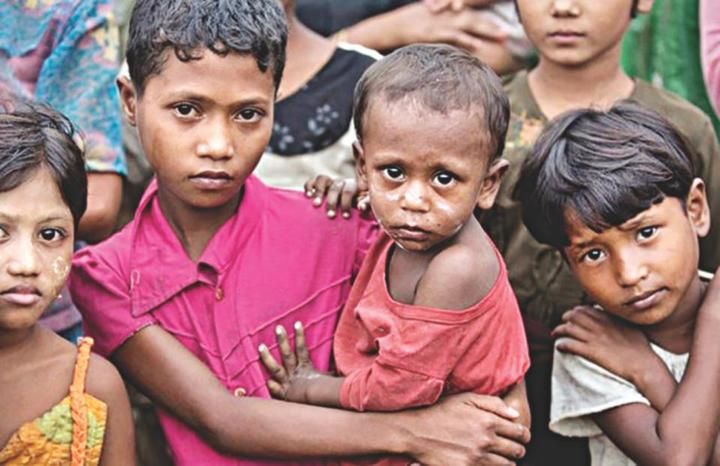 Normal rohingya children 2