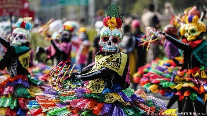 Normal day of the dead parade