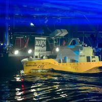 Thumbnail staatssecretarissen onthullen toekomstig marineschip bij marin