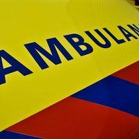 Thumbnail ambulance close up logo 112 hulpdiensten spoed. groot