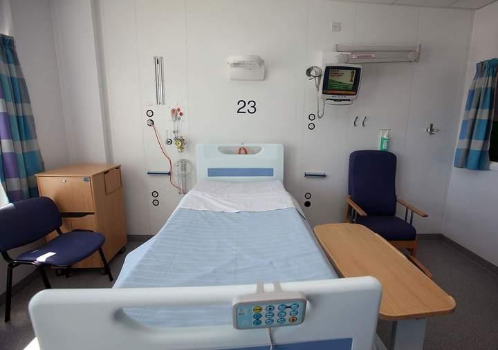 Normal ziekenhuisbed