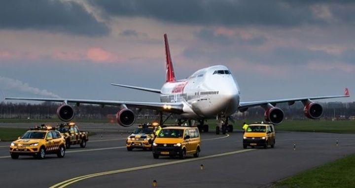 Normal corendon plaatst boeing 747 in eigen hoteltuin