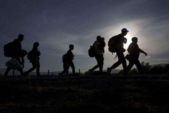 Normal nacht van de vluchteling nieuwe route van amsterdam naar haarlem