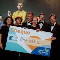 Thumbnail recordbedrag van ruim 18 miljoen euro voor spieren voor spieren