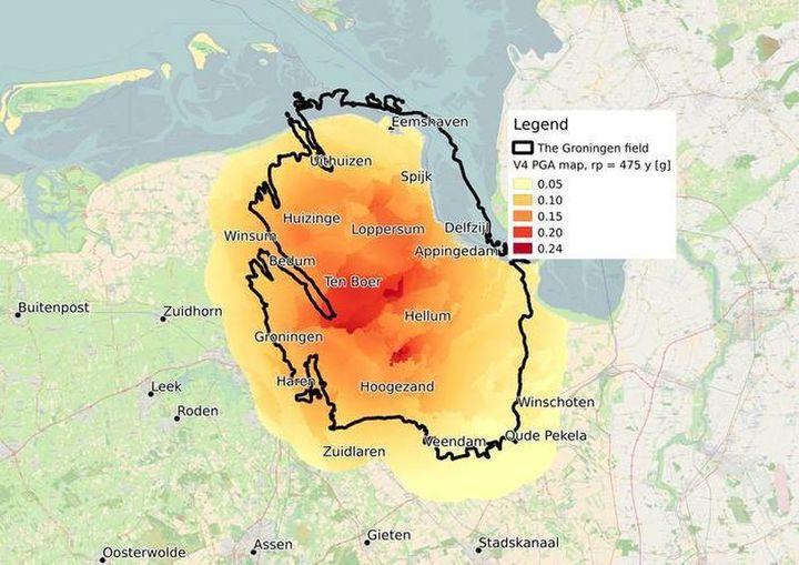 Normal knmi seismische hazardkaart 2017