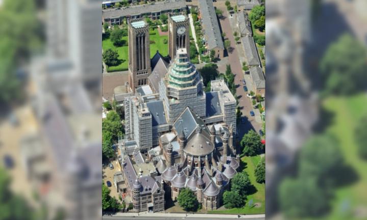 Normal belangrijke europese prijs voor restauratie koepelkathedraal haarlem