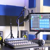 Thumbnail radio studio