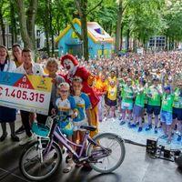 Thumbnail homeride en run van start met recordbedrag voor ronald mcdonald huizen