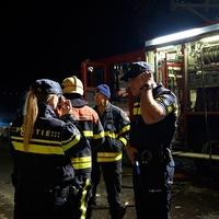 Thumbnail nachtelijke inzet politie en brandweer