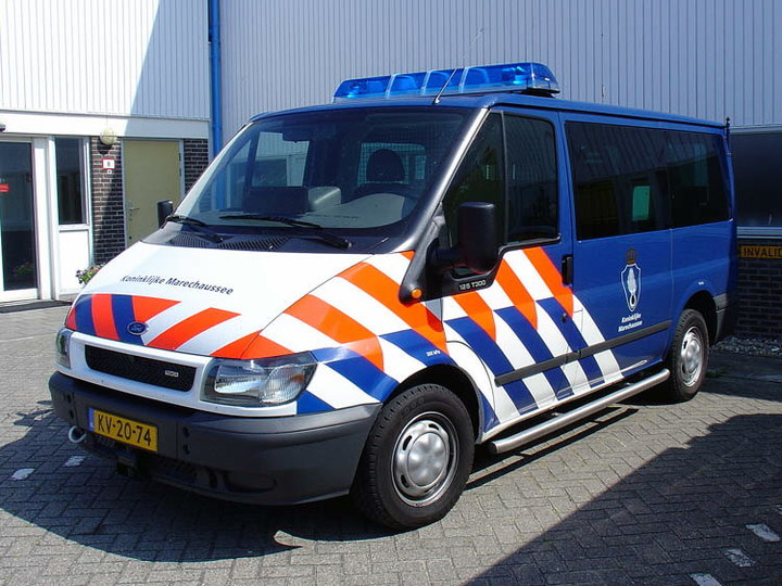 Normal ford transit koninklijke marechaussee