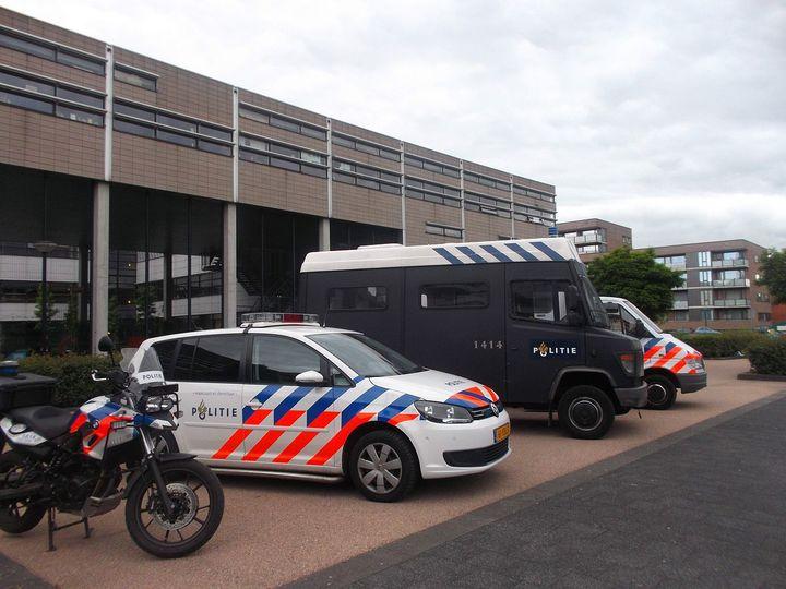 Normal politievoertuigen amsterdam