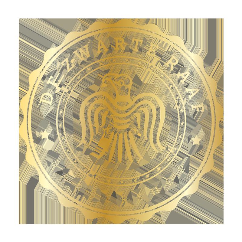 Logo recht goud