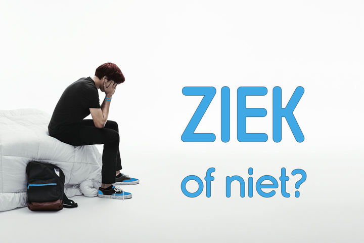 Normal ziek of niet banner