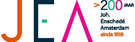 Logo jea text 200jaar