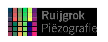 Ruijgrok piezografie logo kleur