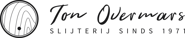 Logo ton overmars 1 x 4.8 zwart