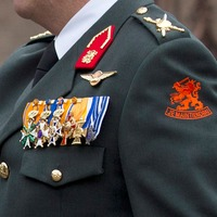 Thumbnail koning willem alexander uniform close up