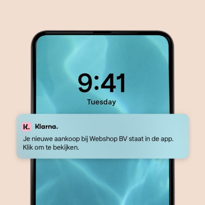 Normal pay later with klarna visual 3 5 app notification 3 mobile