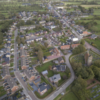 Thumbnail dorp doezum luchtfoto