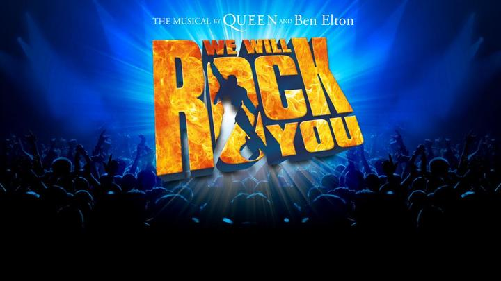 Normal musical we will rock you