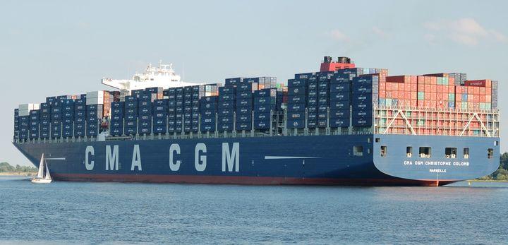 Normal containerschip