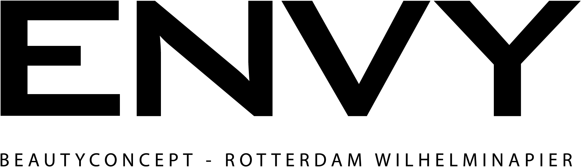 Envy beauty concept logo groot
