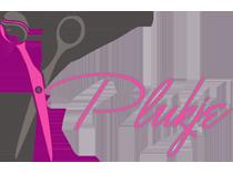 Logo kapsalon plukje