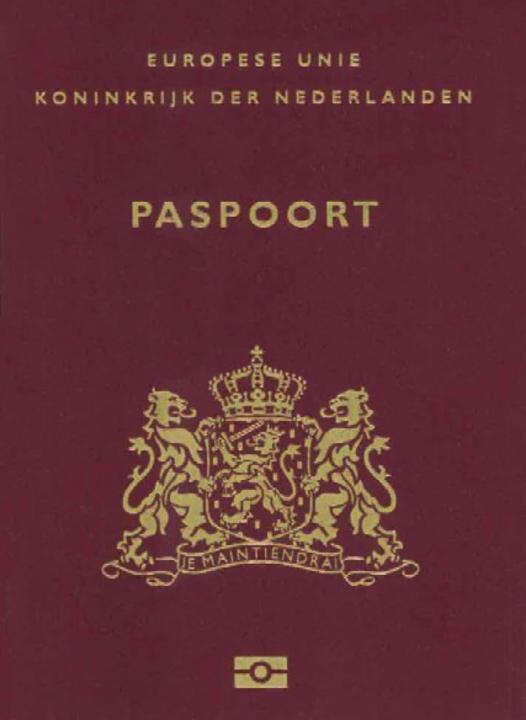 Normal nederlanden paspoort 2011