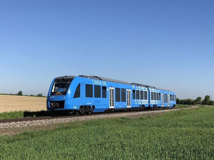 Normal waterstof trein