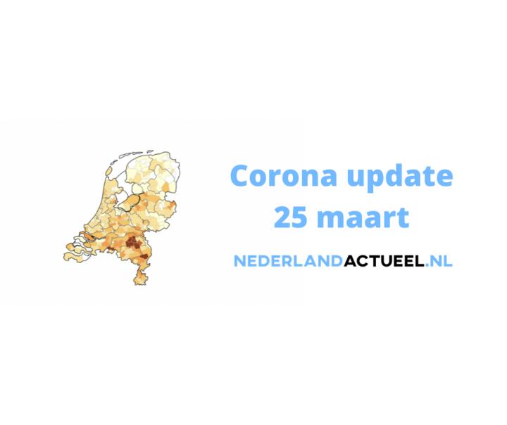 Normal corona update 25 maart