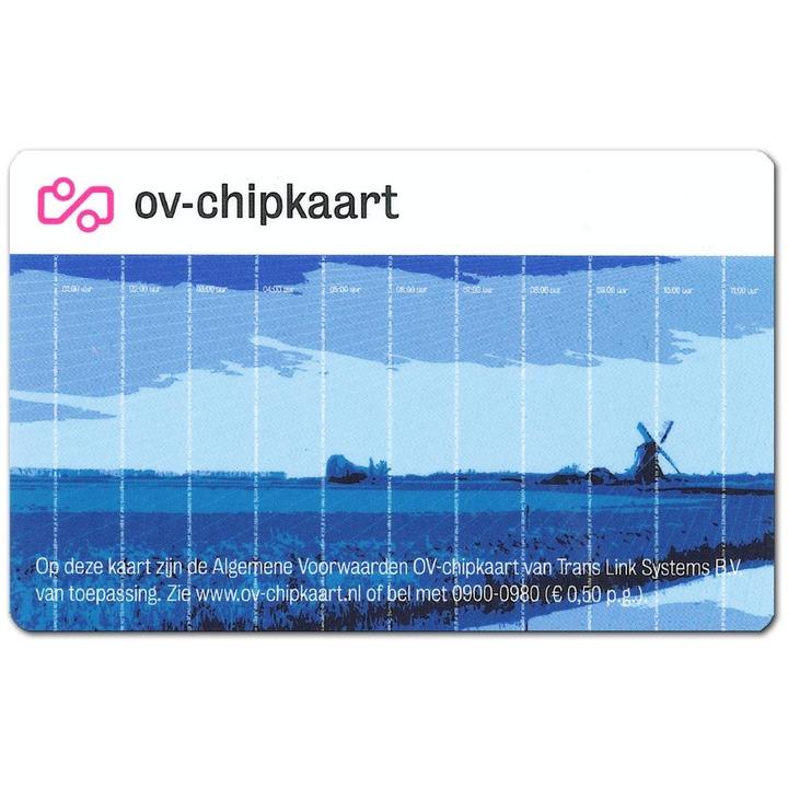 Normal ov chipkaart anoniem voorkant