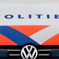Thumbnail logo politie op dienstauto