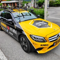 Thumbnail team jumbo visma support car  2019 giro d italia