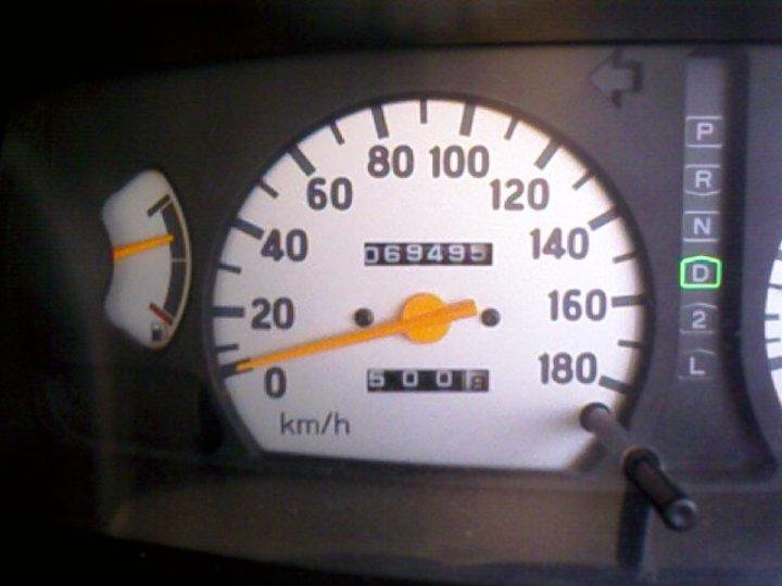 Normal speed meter mishubishi  1